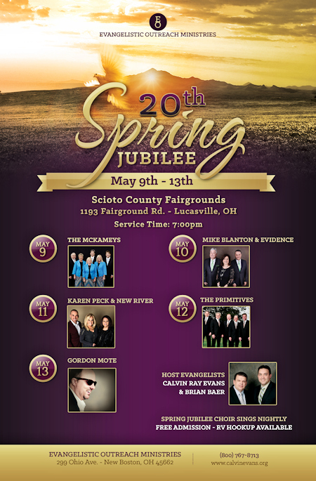 Jacob Berry Ministries: The Spring Jubilee
